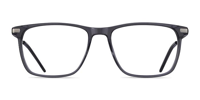 Envision Gray Acetate-metal Eyeglass Frames from EyeBuyDirect