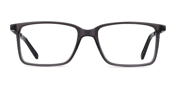 Haptic Gray Acetate-metal Eyeglass Frames