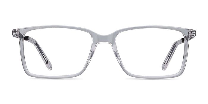 Haptic Transparence Acetate-metal Montures de lunettes de vue d'EyeBuyDirect