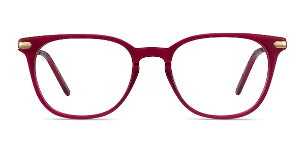 Therefore Raspberry Acetate-metal Eyeglass Frames