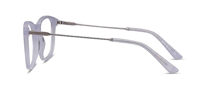 Ratio Purple Striped Acetate-metal Eyeglass Frames from EyeBuyDirect