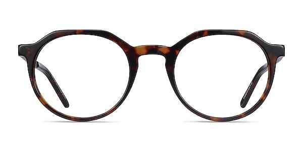 The Cycle Dark Tortoise Acetate-metal Eyeglass Frames