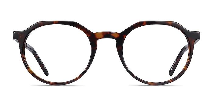 The Cycle Dark Tortoise Acetate-metal Eyeglass Frames from EyeBuyDirect
