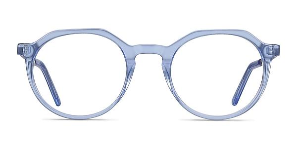The Cycle Blue Acetate-metal Eyeglass Frames
