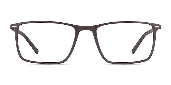 Simon Coffee Plastic-metal Eyeglass Frames