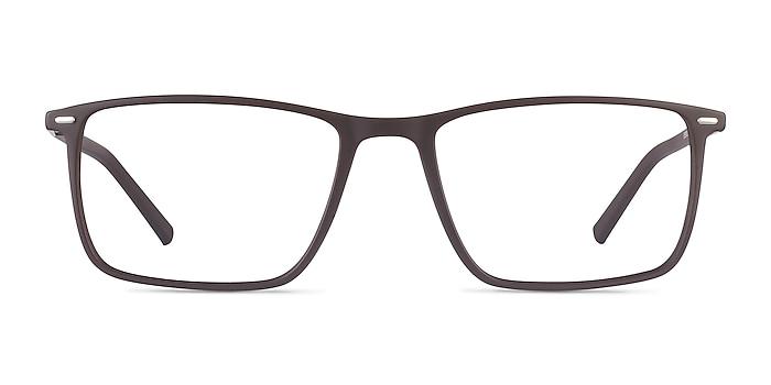 Simon Coffee Plastic-metal Eyeglass Frames from EyeBuyDirect