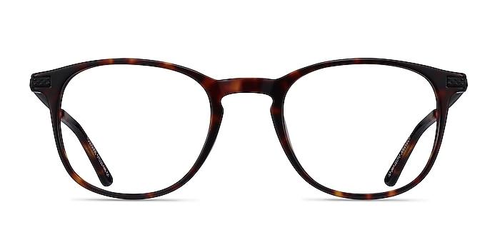 Toulouse Écailles Acetate-metal Montures de lunettes de vue d'EyeBuyDirect