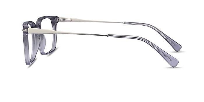 Nox Gray Acetate-metal Eyeglass Frames from EyeBuyDirect