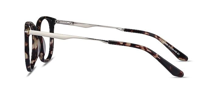 Ninah Tortoise Acetate-metal Eyeglass Frames from EyeBuyDirect