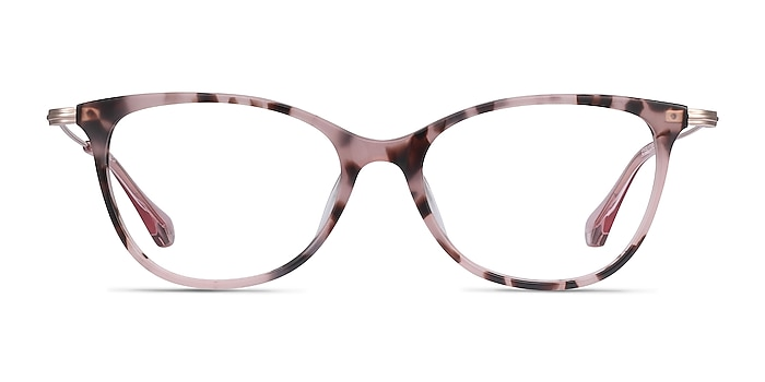 Idylle Pink Tortoise Acetate-metal Eyeglass Frames from EyeBuyDirect