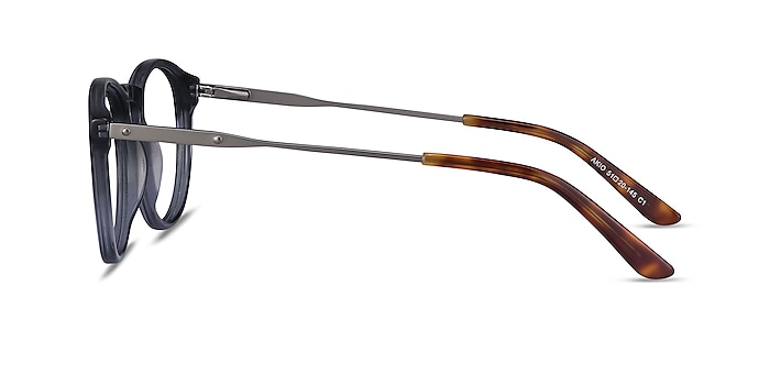 Akio Gray Acetate-metal Eyeglass Frames from EyeBuyDirect