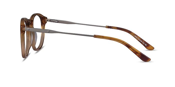 Akio Yellow Acetate-metal Eyeglass Frames from EyeBuyDirect