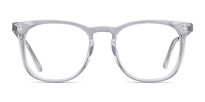 Vibes Clear Acetate-metal Eyeglass Frames from EyeBuyDirect