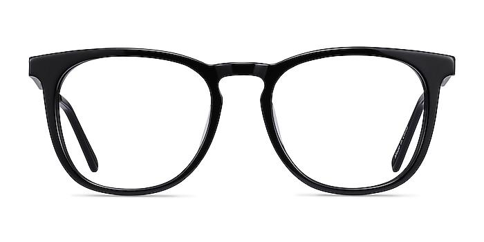 Vibes Black Acetate-metal Eyeglass Frames from EyeBuyDirect