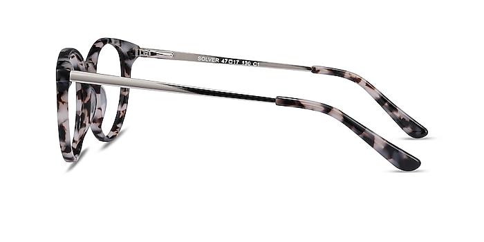 Solver Ivory Tortoise Acetate-metal Eyeglass Frames from EyeBuyDirect