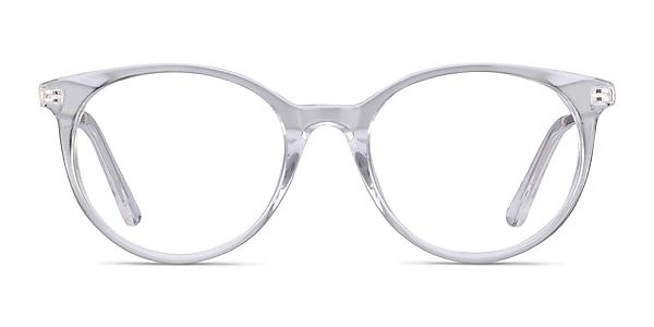 Solver Clear Acetate-metal Eyeglass Frames