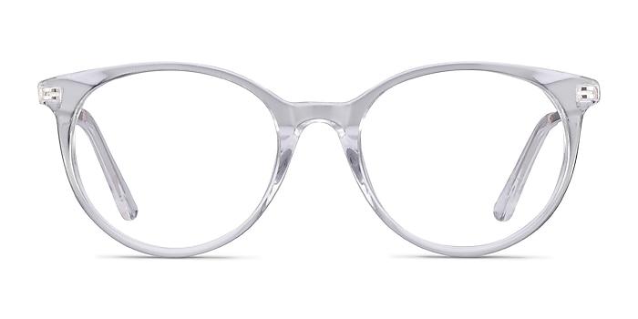 Solver Transparence Acetate-metal Montures de lunettes de vue d'EyeBuyDirect