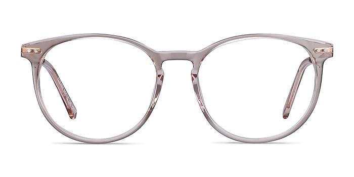 Clever Rose Acetate-metal Montures de lunettes de vue d'EyeBuyDirect