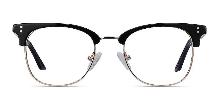 Freestyle Black Acetate-metal Eyeglass Frames from EyeBuyDirect