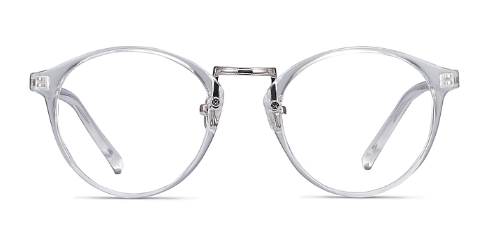 Small Chillax Clear Plastic-metal Eyeglass Frames from EyeBuyDirect