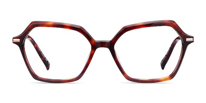 Carmel Tortoise Acetate-metal Eyeglass Frames from EyeBuyDirect