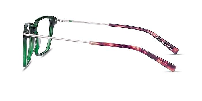Sense Green Acetate-metal Eyeglass Frames from EyeBuyDirect