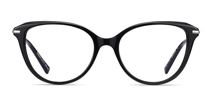 Turner Black Acetate-metal Eyeglass Frames from EyeBuyDirect