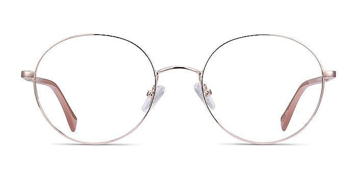 Thea Rose Gold Acetate-metal Eyeglass Frames from EyeBuyDirect