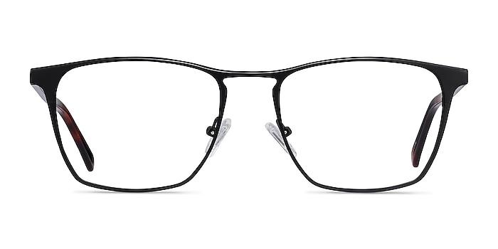 Jacob Black & Tortoise Acetate-metal Eyeglass Frames from EyeBuyDirect