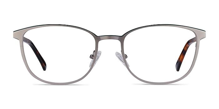 Guide Gunmetal & Tortoise Acetate-metal Eyeglass Frames from EyeBuyDirect