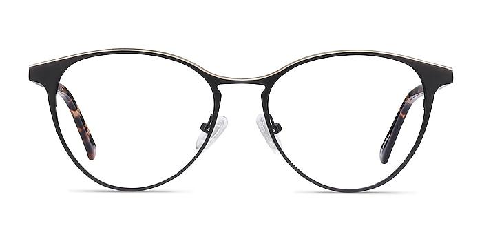 Vestige Black & Tortoise Acetate-metal Eyeglass Frames from EyeBuyDirect