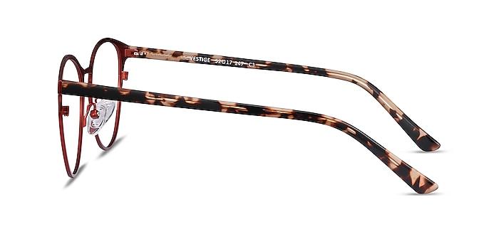 Vestige Red Acetate-metal Eyeglass Frames from EyeBuyDirect