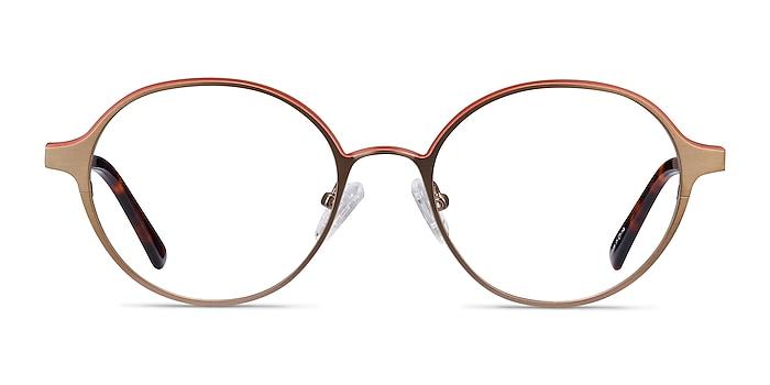 Observer Bronze Acetate-metal Montures de lunettes de vue d'EyeBuyDirect