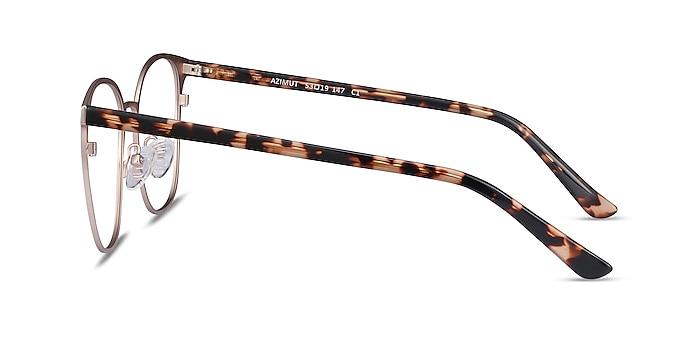 Azimut Doré Acetate-metal Montures de lunettes de vue d'EyeBuyDirect