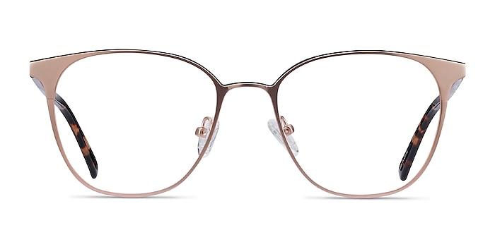 Azimut Rose Gold Acetate-metal Eyeglass Frames from EyeBuyDirect