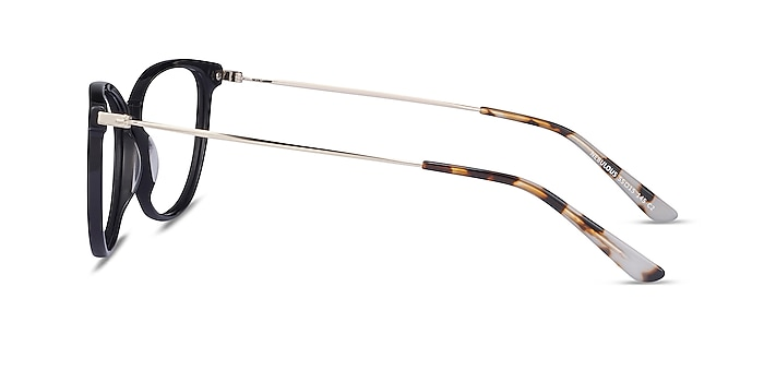Nebulous Black Acetate-metal Eyeglass Frames from EyeBuyDirect