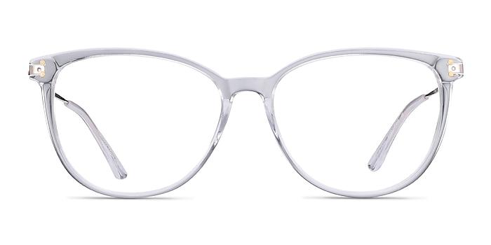 Nebulous Clear Acetate-metal Eyeglass Frames from EyeBuyDirect