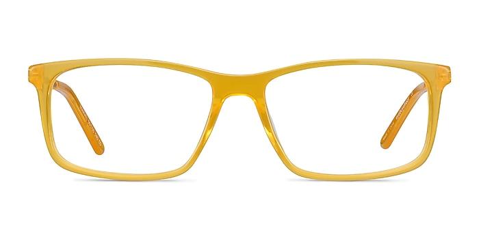 Marvel Jaune Acetate-metal Montures de lunettes de vue d'EyeBuyDirect