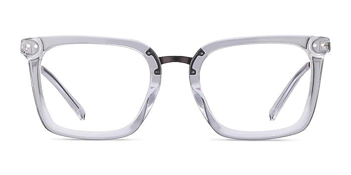 Poise Transparence Acetate-metal Montures de lunettes de vue d'EyeBuyDirect