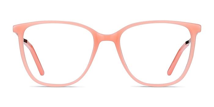 Aroma Coral Acetate-metal Eyeglass Frames from EyeBuyDirect