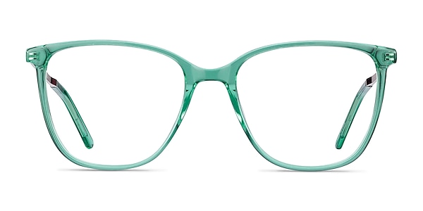 Aroma Emerald Green Acetate-metal Eyeglass Frames