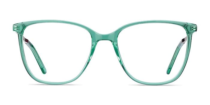 Aroma Emerald Green Acetate-metal Eyeglass Frames from EyeBuyDirect