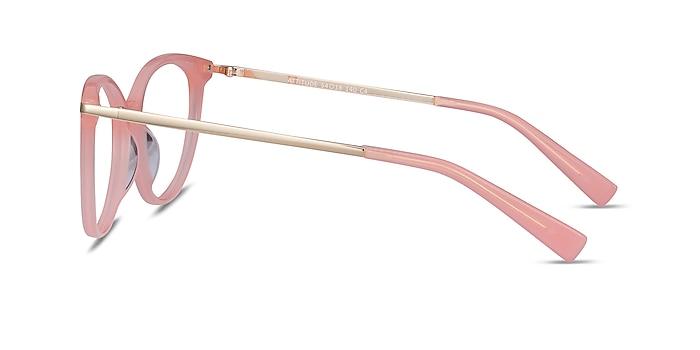 Attitude Coral Acetate-metal Montures de lunettes de vue d'EyeBuyDirect