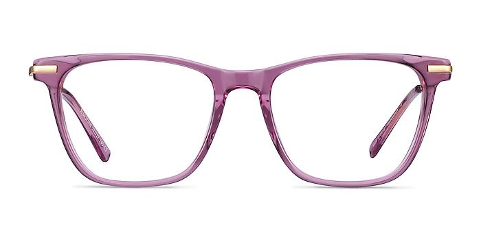 Sebastian Purple Acetate-metal Eyeglass Frames from EyeBuyDirect