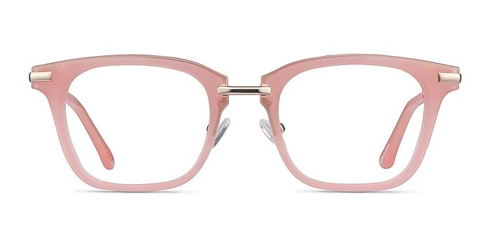 Candela Pink Acetate-metal Eyeglass Frames from EyeBuyDirect