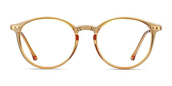 Amity Orange Plastic-metal Eyeglass Frames