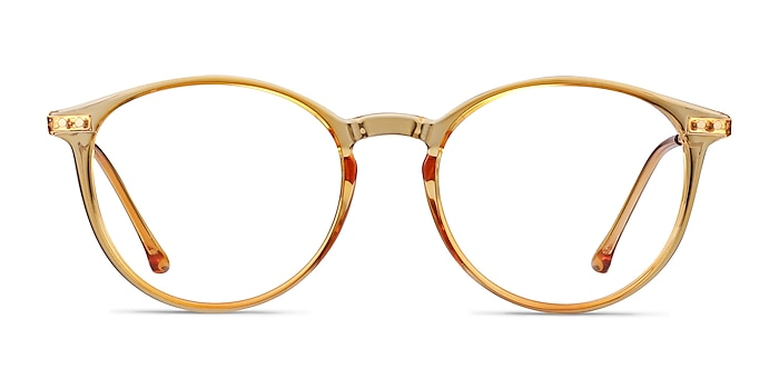 Amity Orange Plastic-metal Montures de lunettes de vue d'EyeBuyDirect