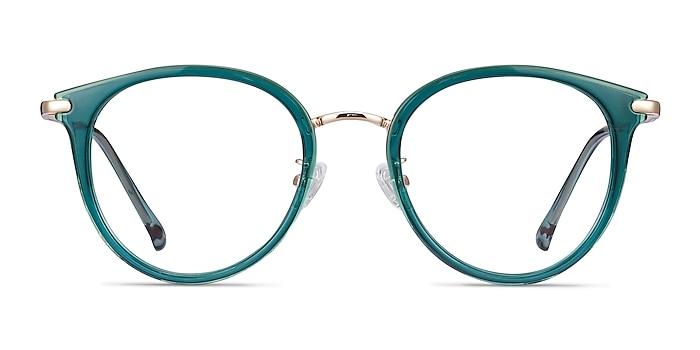 Hollie Teal Plastic-metal Montures de lunettes de vue d'EyeBuyDirect