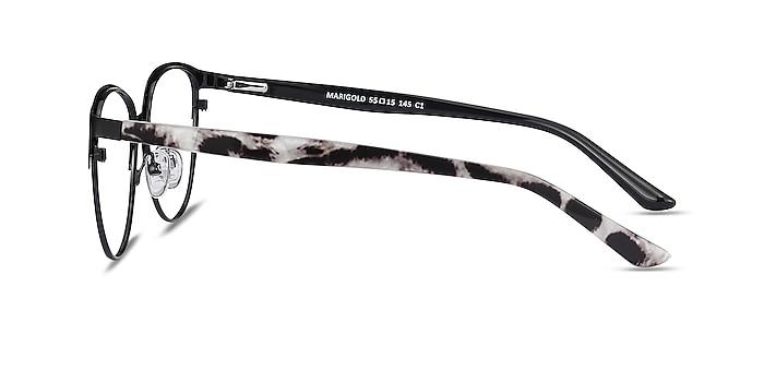 Marigold Black & Leopard Acetate-metal Eyeglass Frames from EyeBuyDirect