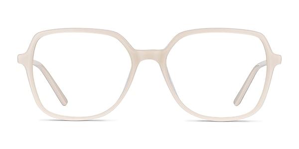 Lenny Cream Acetate-metal Eyeglass Frames